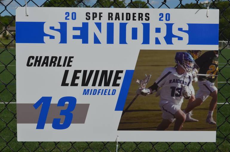 Scotch Plains-Fanwood boys lacrosse player Charlie Levine