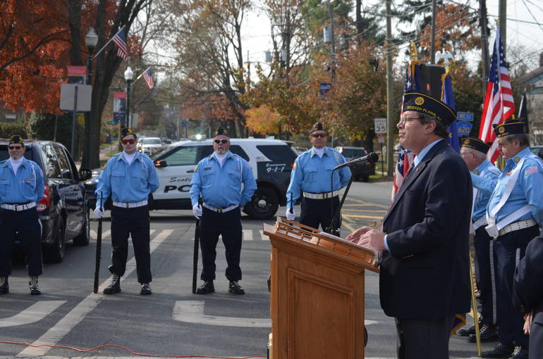 Kevin Burns is commander of American Legion Post 209 in Scotch Plains.