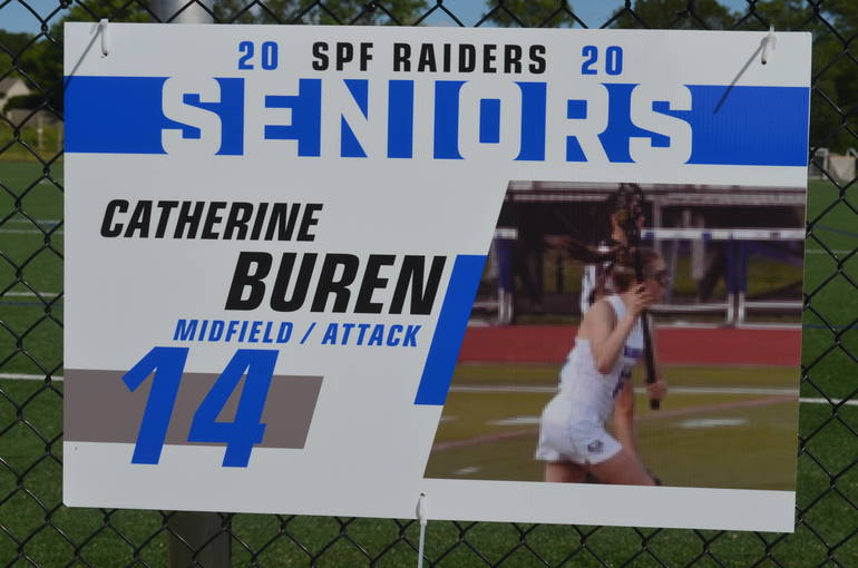 Scotch Plains-Fanwood girls lacrosse senior Catherine Buren