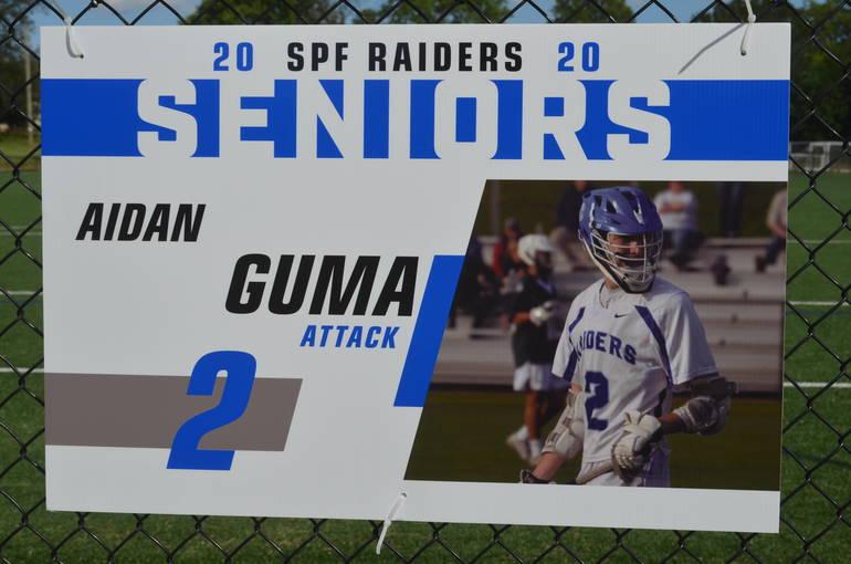 Scotch Plains-Fanwood boys lacrosse player Aidan Guma