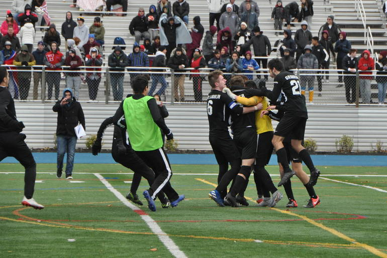Millburn Boys Soccer Outlasts Wall in Penalty Kicks for Group 3 State Crown