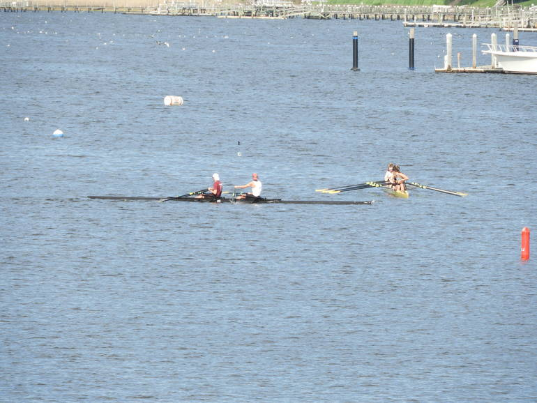 Red Bank Navesink River Rowing – The Scull Before the Storm
