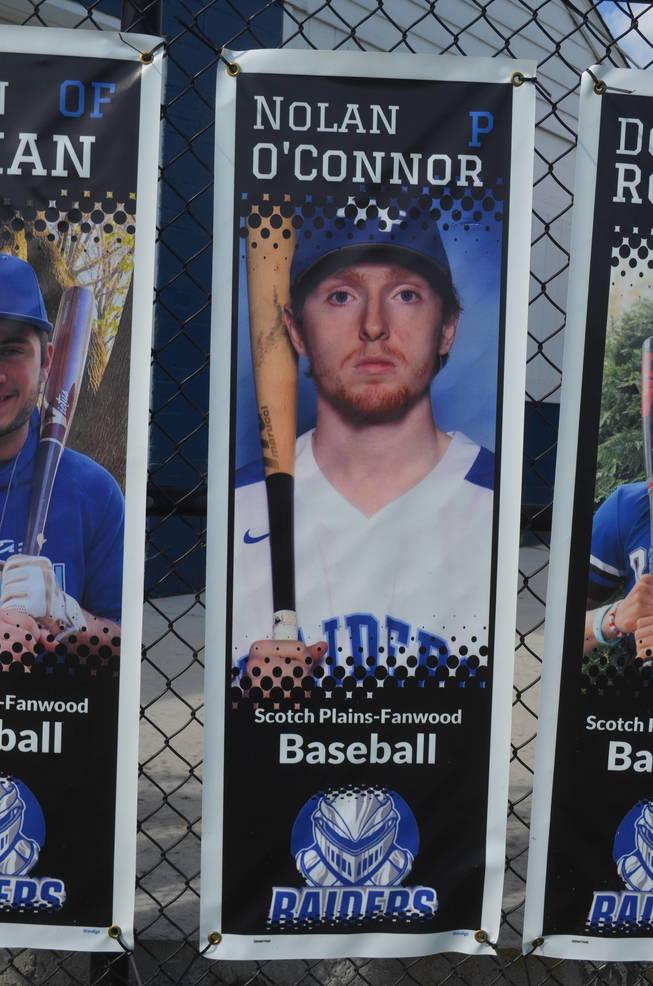 Scotch Plains-Fanwood baseball player Nolan O'Connor