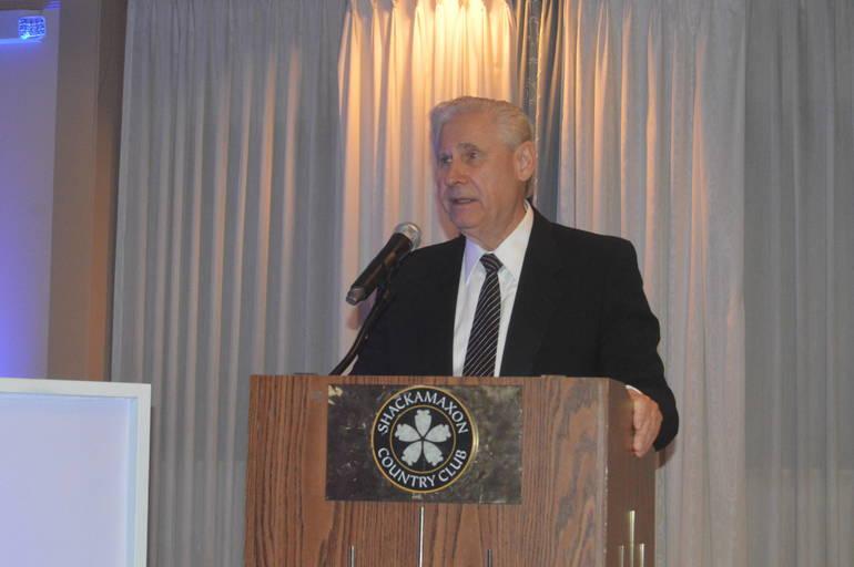 Scotch Plains Mayor Al Smith at the 2018 Mayor's Gala.