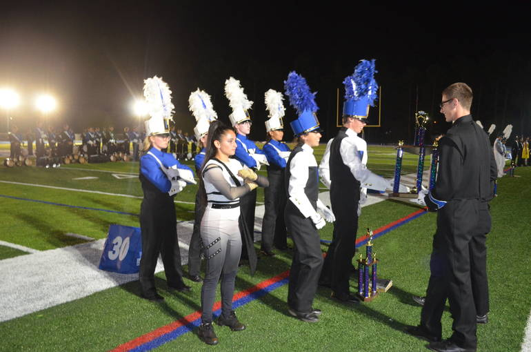 Scotch Plains-Fanwood Hosts 2019 Marching Band Home Show