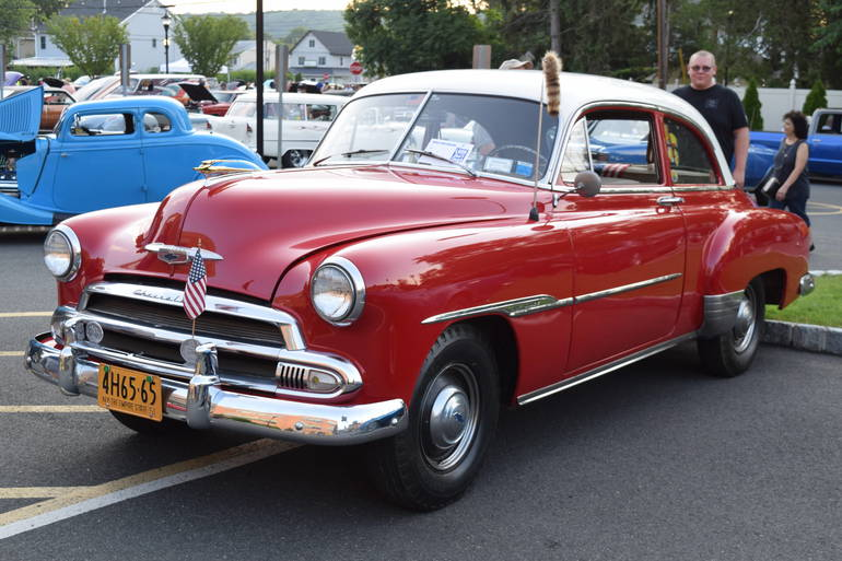 Scenes from the Scotch Plains Fire Dept. Car Show