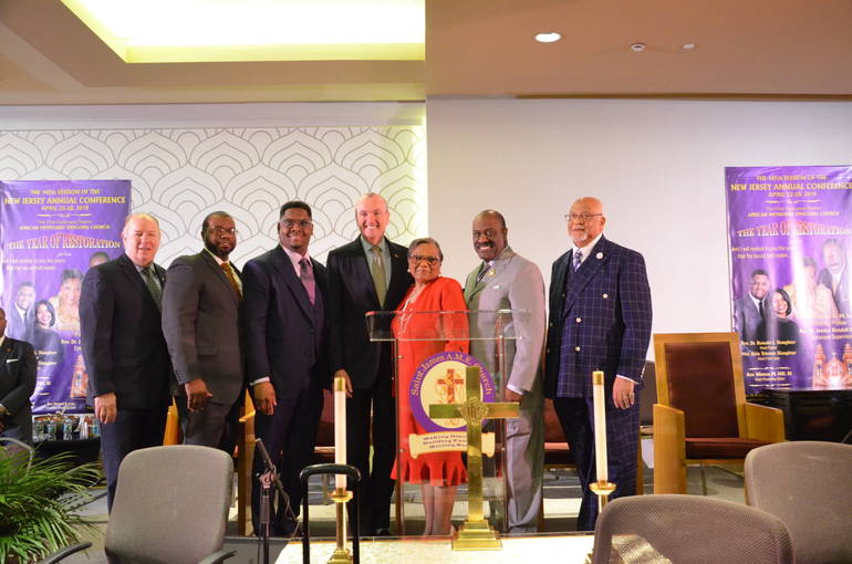 Governor Murphy Taps Faith Leaders Support For Criminal Justice Reform