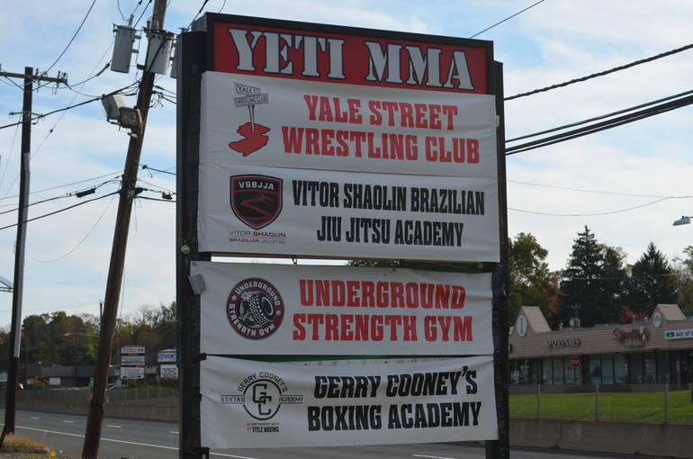 Gerry Cooney Boxing Academy at Yeti MMA on Route 22 West in Scotch Plains