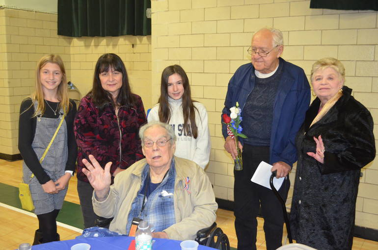 Scenes from the annual Veterans Luncheon at St. Bart's Academy in Scotch Plains
