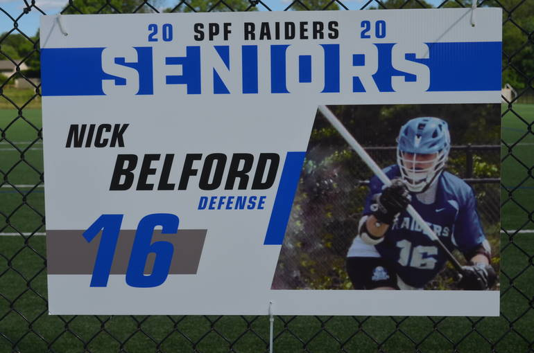 Scotch Plains-Fanwood boys lacrosse player Nick Belford