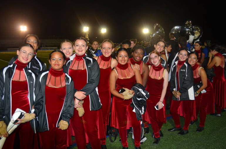 The 2019 Scotch Plains-Fanwood Home Show marching band competition was held on Saturday, Sept. 21.
