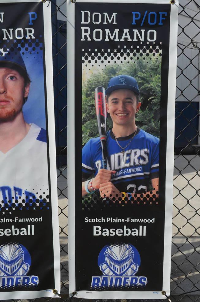 Scotch Plains-Fanwood baseball player Dom Romano