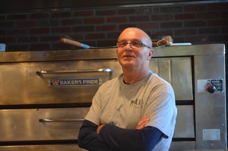 Max Perrone of Max's Pizza in Scotch Plains.
