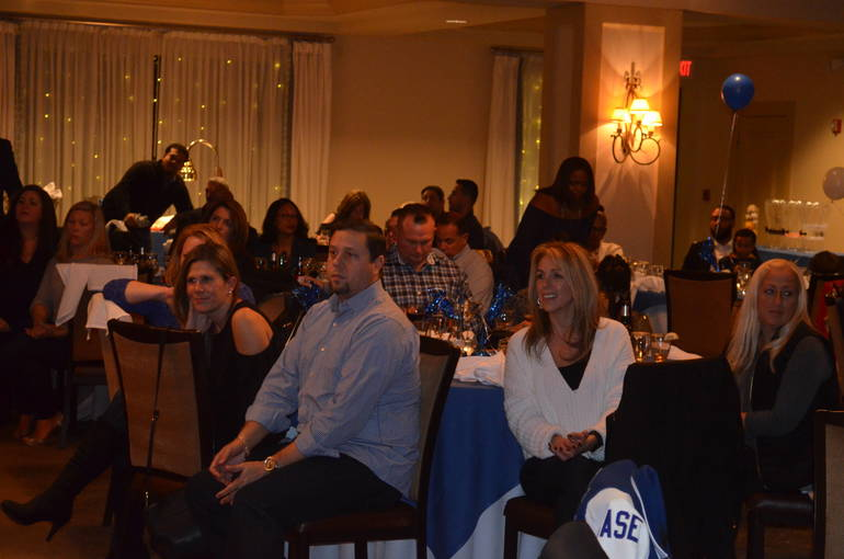 Scenes from the Scotch Plains-Fanwood PAL Football banquet.