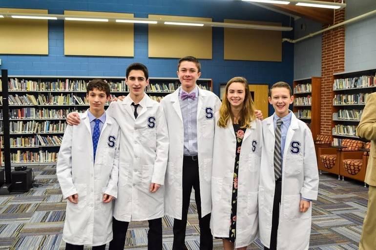 SHS STEM Academy 2019 induction