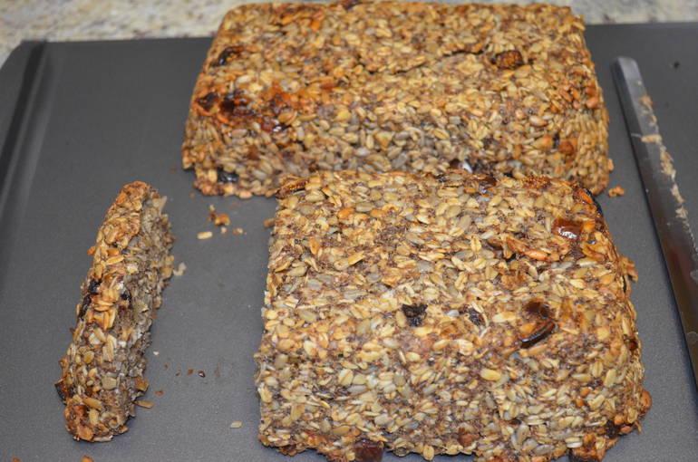 Gluten-free sunflower seed bread at MettaCasa in Scotch Plains.