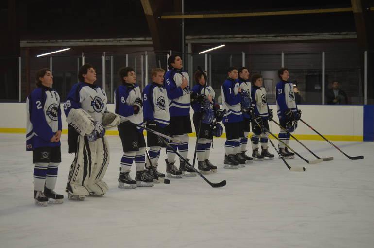 Scenes from Scotch Plains-Fanwood Hockey Senior Night