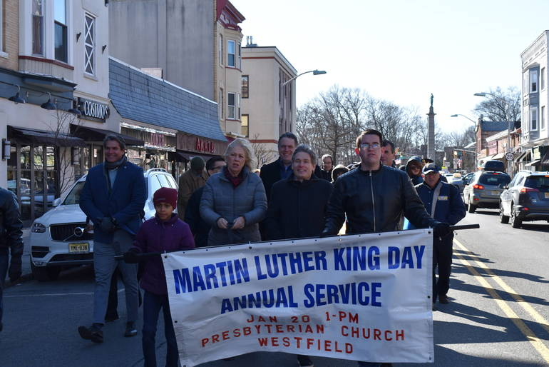 MLK March Westfield 2020