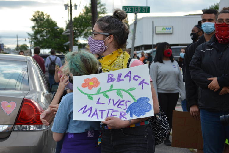 """Highland Park """"Take Charge & Charge Them"""" Protest"""