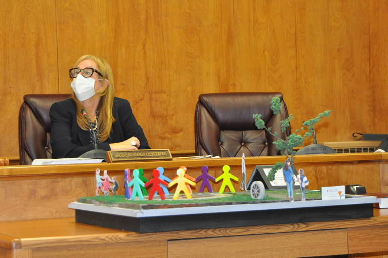 Millburn Township Committee Hears Presentation on Public Sculpture for Taylor Park