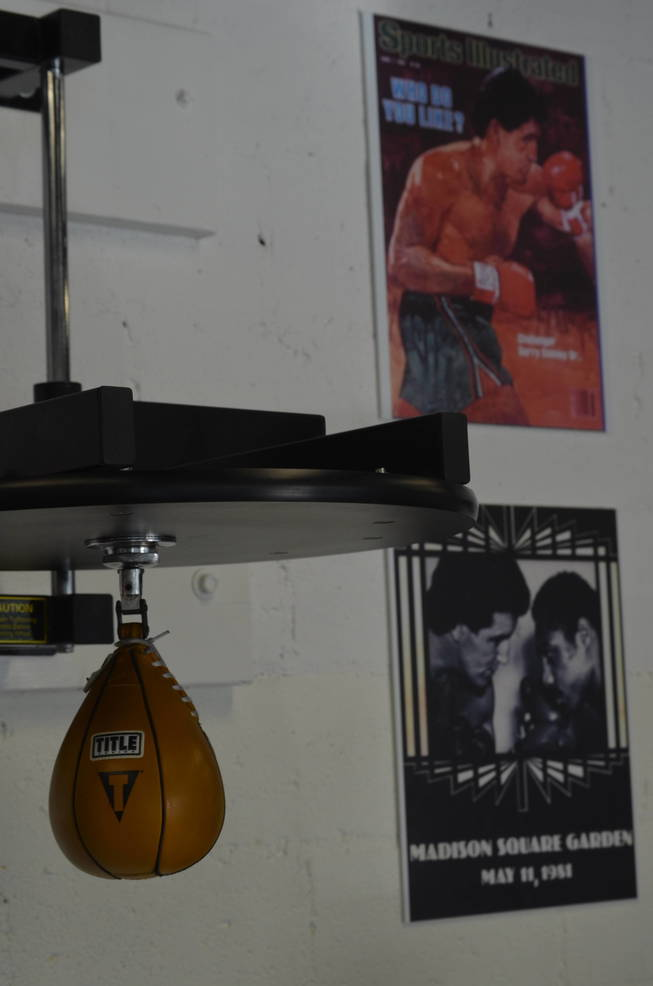 Gerry Cooney's Boxing Academy at Yeti MMA in Scotch Plains features memorabilia from his professional boxing career.