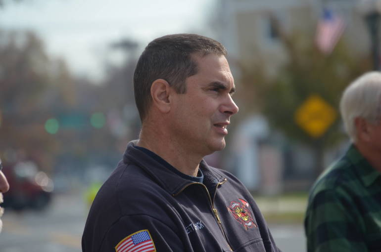 Scotch Plains Fire Chief John Lestarchick