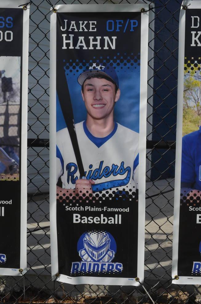 Scotch Plains-Fanwood baseball player Jake Hahn