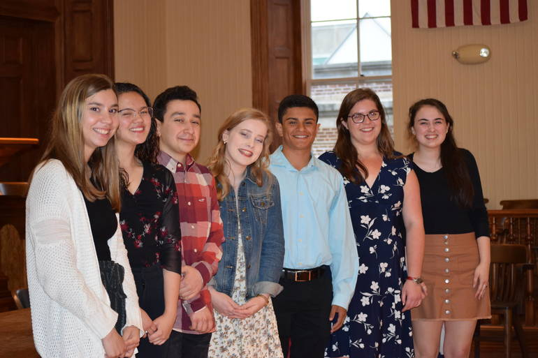 Hunterdon County Bar Association Law Day Essay Winners