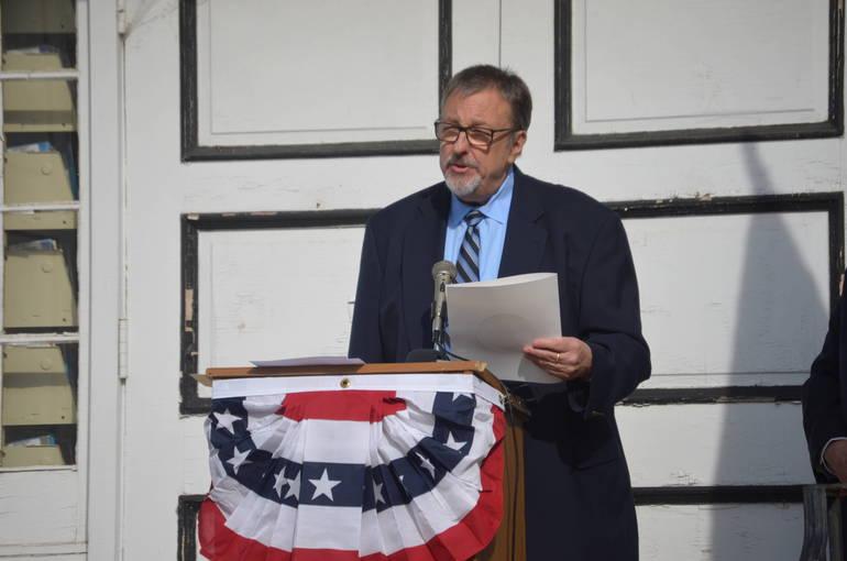 Fanwood Borough Council President Tom Kranz