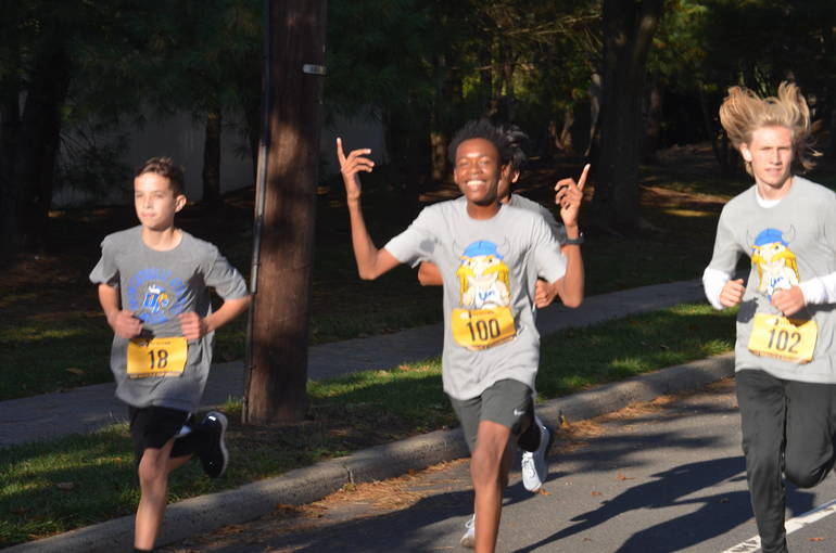 Scenes from the Union Catholic 5K in Scotch Plains