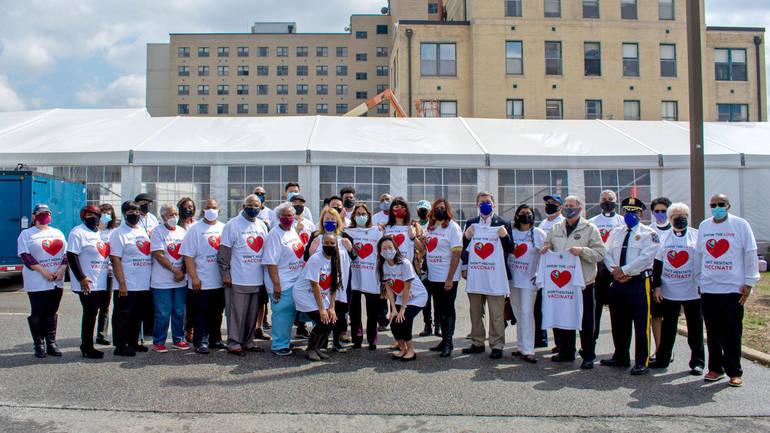 Equity Team at Bergen New Bridge Combating Barriers to Vaccine