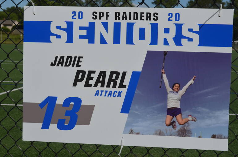 Scotch Plains-Fanwood girls lacrosse senior Jadie Pearl