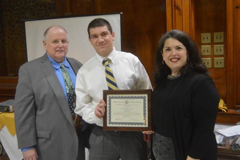 Dan Sullivan, David Lugara, and Chief Carolyn Sorge