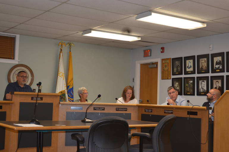 Fanwood Borough Council on Sept. 3, 2019