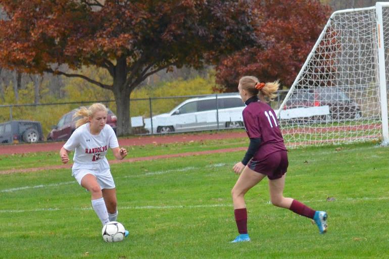 girls soccer defender