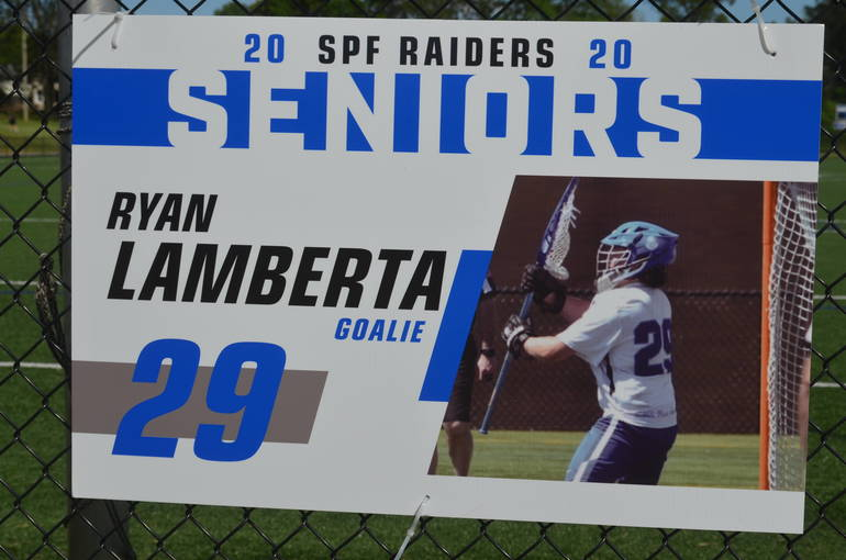 Scotch Plains-Fanwood boys lacrosse player Ryan Lamberta