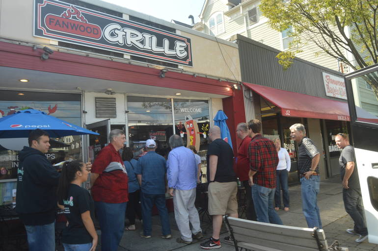Hot Dog Nation Tour of New Jersey arrives at The Fanwood Grille in 2018.