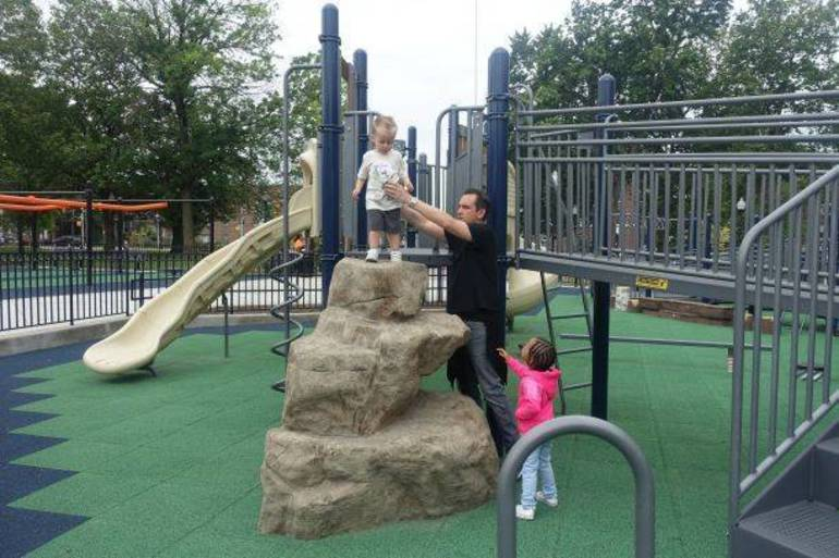 Child's Play: Fulop's Son Gives to New Playground at Audobon Park