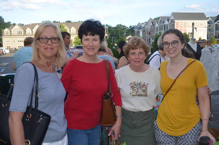 Ladies Night Out in downtown Fanwood on Thursday, June 6, 2019.