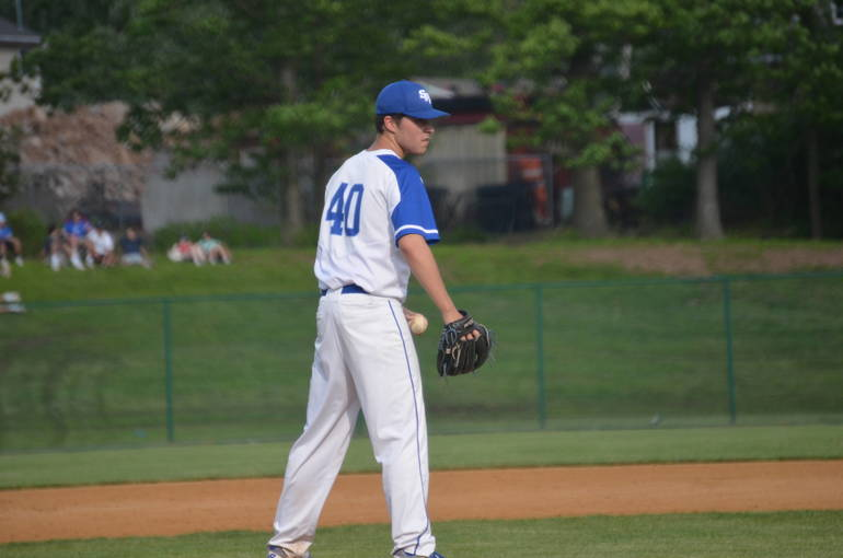 Danny Wilkinson of Scotch Plains-Fanwood on the mound.