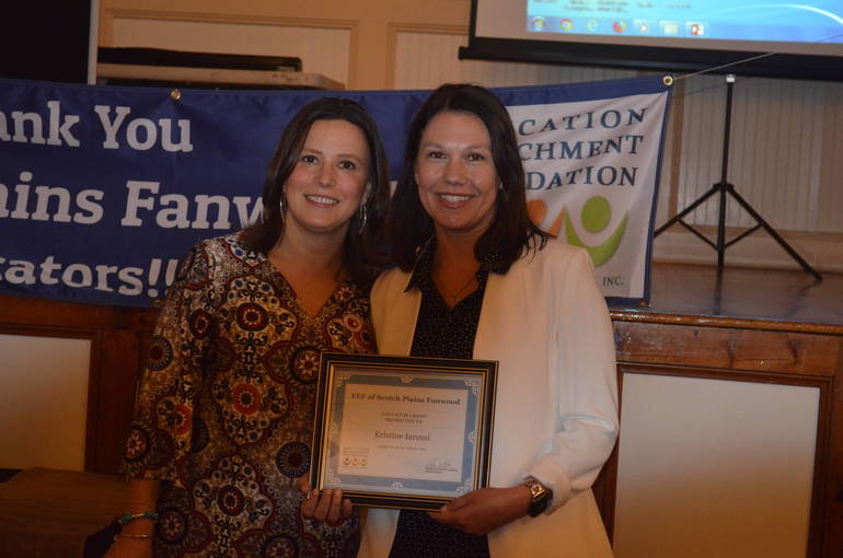 Scenes from the Scotch Plains-Fanwood EEF's Awards Dinner