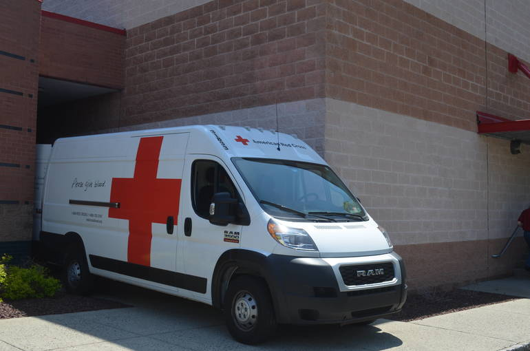 Blood Mobile at the Fanwood-Scotch Plains YMCA