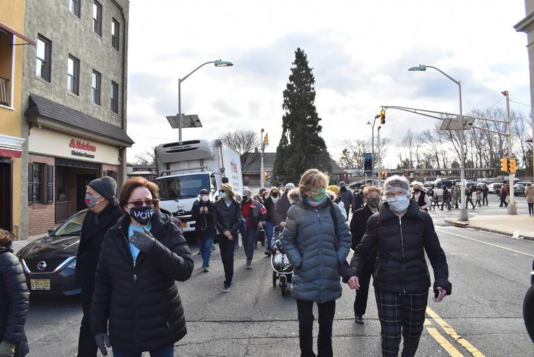 In a Traumatic Year, Westfield March and Service Honors MLK