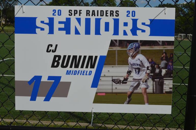 Scotch Plains-Fanwood boys lacrosse player C.J. Bunin