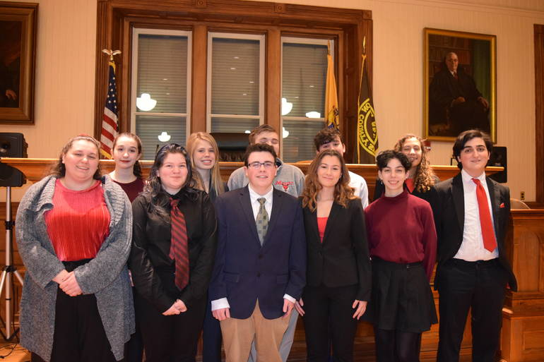 2020 Voorhees Mock Trial Team