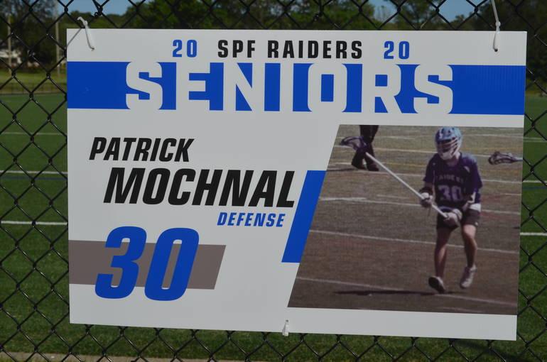 Scotch Plains-Fanwood boys lacrosse player Patrick Mochnal