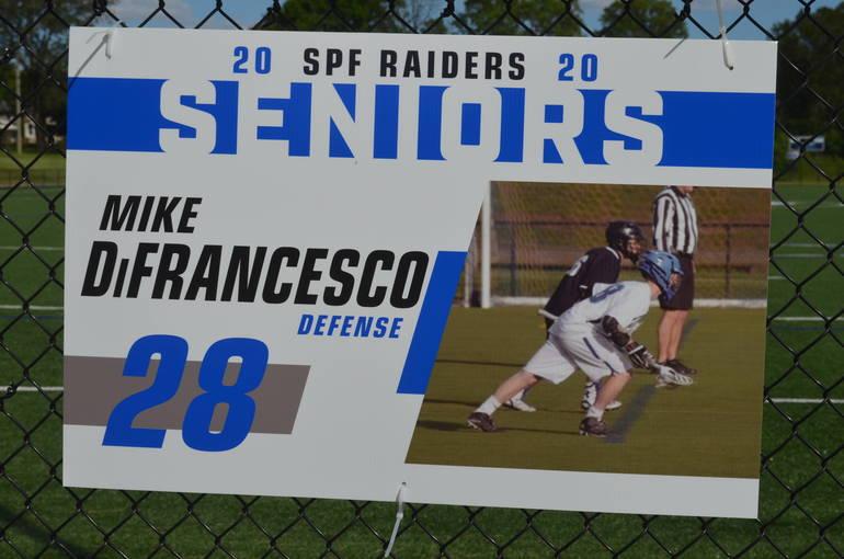 Scotch Plains-Fanwood boys lacrosse player Mike DiFrancesco