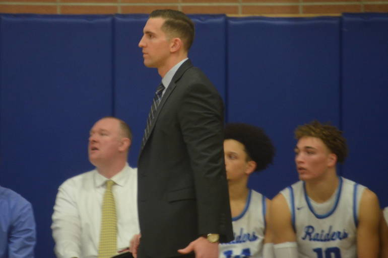 Scotch Plains-Fanwood Coach Steve Siracusa