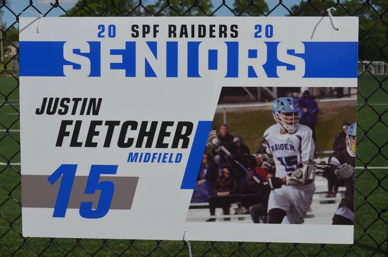 Scotch Plains-Fanwood boys lacrosse player Justin Fletcher