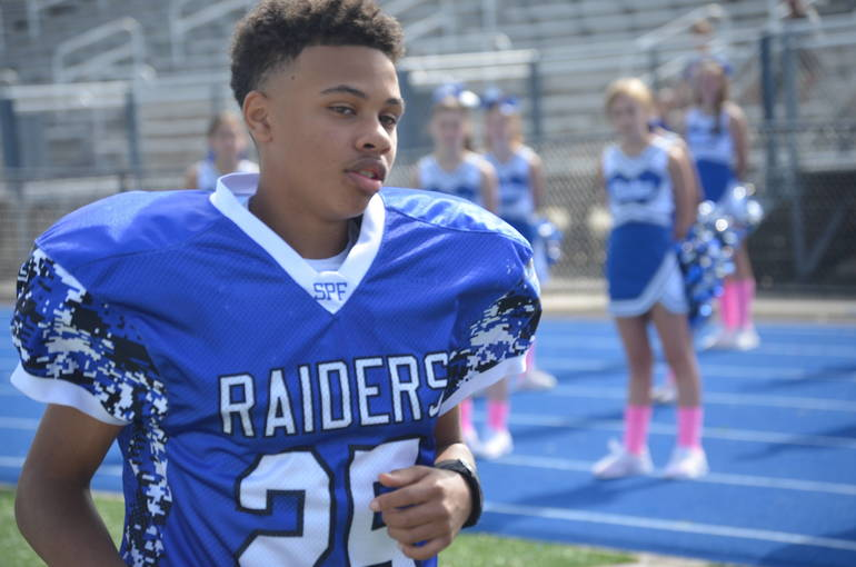 Scenes from Scotch Plains-Fanwood PAL Football Week 5